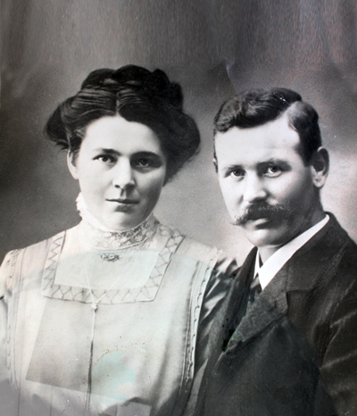 Franz Alexander und  Frida